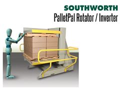 PalletPal Pallet Rotators are ideal for swapping out pallets, slip sheets, etc.