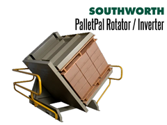 "PalletPal Rotators have clamps with openings from 60"" - 84"""