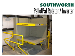 PalletPal Rotators adjustable clamp pressure prevents damage to loads
