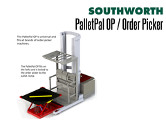 The PalletPal OP is universal and fits all brands of order picker machines.