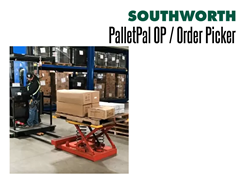 PalletPal OP Order Picker Mounts on any order picker in seconds