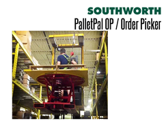 PalletPal OP Order Picker Improves the Efficiency of the Picking Process