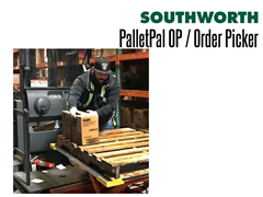 PalletPal OP Order Picker Keeps Pallets at a Convenient Height for Easy Loading