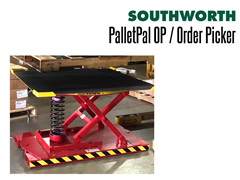 PalletPal OP Order Picker  - Empty Unit with Fully Raised Platform