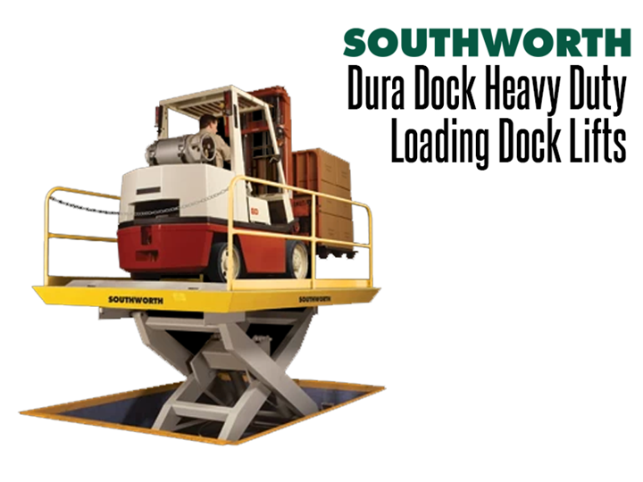Loading Dock Lifts with pit mounting are the best solution for loading or offloading trucks for a ground level application