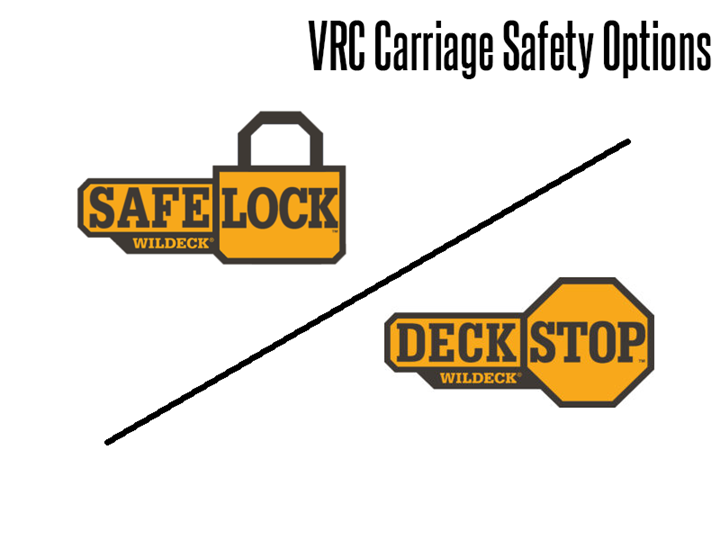 SafeLock™ and DeckStop™ systems are available for Wildeck VRCs (vertical reciprocating conveyors) and provide an additional level of safety based on your specific applications requirements