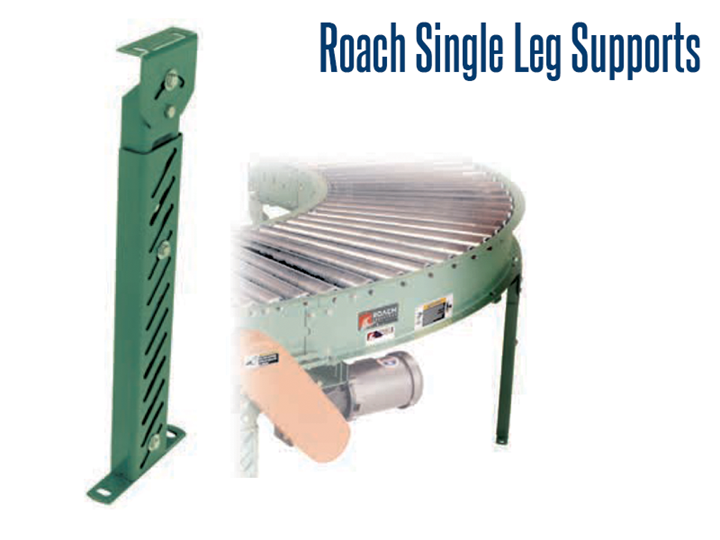 """Single Leg Supports provide support where full """"H-type"""" permanent supports are not normally required."""