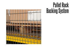 Pallet Back Racking is available in flush mount or offset configurations