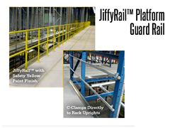 JiffyRail™ offers sturdy construction with a simple installation