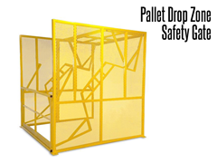 When one side of the  Drop Zone Gate is raised the other side closes, keeping your elevated areas protected at all times.