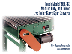 Close Up View of Under Mounted Drive on Roach Model 196LRCS