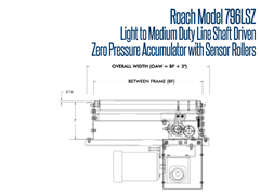 Model 796LSZ Front View Schematic