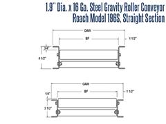Roach Model 192S, Roller Schematic