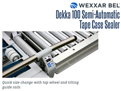 The DEKKA 100 features quick size changes with top wheel and tilting guide rails