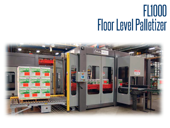 The FL1000's economic price and speed provides an optimal combination for low speed applications.