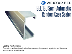 The BEL 180 features corrosion resistant and paint free construction which guards against machine wear and tear and extends machine life