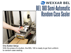 The BEL 180's features a one button set up.