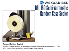 The BEL 180 comes standard with DEKKA tape heads and features superior top and bottom case sealing.