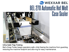 The BEL 270 has ultra safe flap folding, keeping operators safe and allowing for easy maintenance
