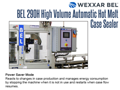 The BEL 290H features a power save mode, which reacts to changes in production.