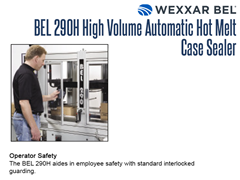 The BEL 290H Features Standard Interlocked Guarding to Safeguard Employees
