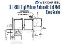 BEL 290H Side View Schematic