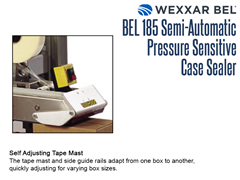 The BEL 185 has a self adjusting tape mast which adapts from one box to another