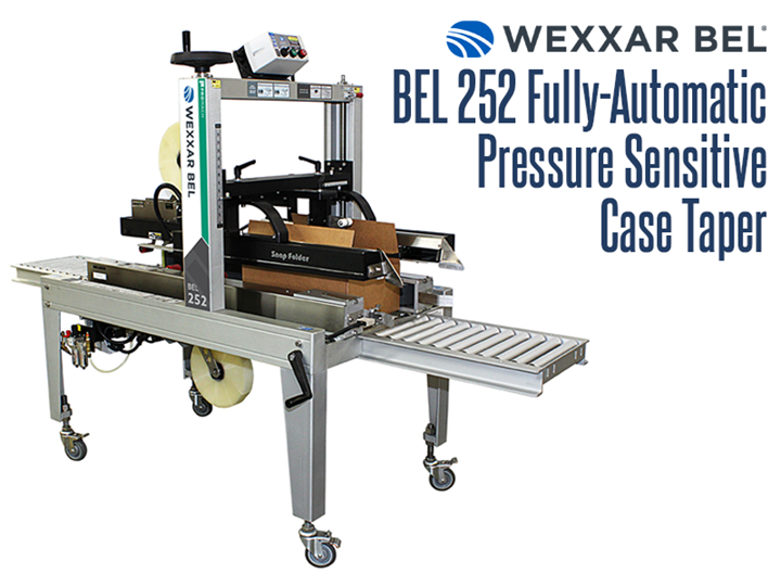 The BEL 252 is a fully automatic, pressure sensitive uniform case taper that offers highly advanced production duty design.