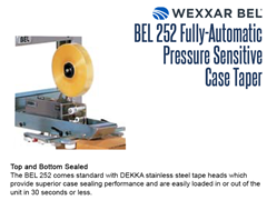 The BEL 252 comes standard with DEKKA stainless steel tape heads, providing superior case sealing both top and bottom.