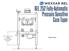 The BEL 252 Front View Schematic