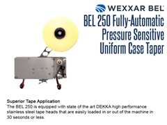 The BEL 250 is equipped with state of the art DEKKA stainless steel tape heads  which are easily loaded in or out of the machine in 30 seconds or less.