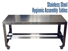 Picture for Stainless Steel Hygienic Assembly Tables