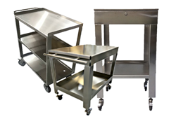 Picture for category Food Grade Stainless Steel Tables, Carts and Workstations