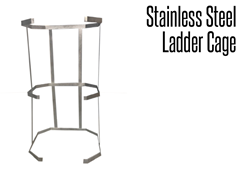 Picture for Stainless Steel Ladder Caging