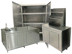 Picture for category Food Grade Stainless Steel Cabinetry