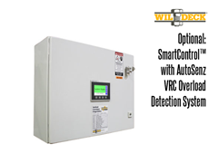 The Mechanical Straddle VRC has the SmartControl™ with AutoSenz® VRC Overload Detection System as an option.