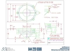 Metalfab Bin Activator 3' Diameter ACAD, dwg, Step Drawing