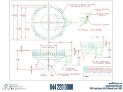 Metalfab Bin Activator 4' Diameter ACAD, dwg, Step Drawing