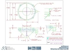 Metalfab Bin Activator 5' Diameter ACAD, dwg, Step Drawing