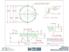 Metalfab Bin Activator 7' Diameter ACAD, dwg, Step Drawing