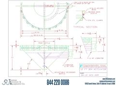 Metalfab Bin Activator 12' Diameter ACAD, dwg, STep Drawing