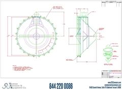 Metalfab Bin Activator 14' Diameter ACAD, dwg, Step Drawing