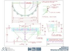 Metalfab Bin Activator 10' Diameter ACAD, dwg, Step Drawing