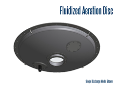Silo Aeration Discs, also known as silo fluidizers, bin aerators, or silo aeration bottoms are used to create flow of dry bulk solids from vertical storage bins. These fluidizers are used in bulk solid material handling processes.