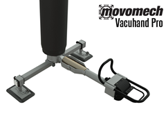 Vacuhand Pro Long Handled, Flexible Double Foot Yolked Vacuum Attachment