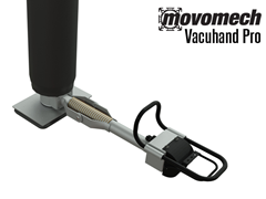 Vacuhand Pro Long Handled, Flexible Single Foot Vacuum Attachment