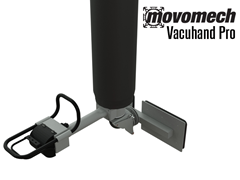 Vacuhand Pro Long Handled, Single Foot Swivel Vacuum Attachment