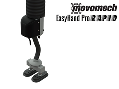 Easyhand Pro Rapid Vacuum Tube Lifter with Double Flat Suction Cup Attachment