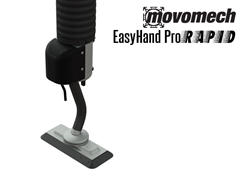 Easyhand Pro Rapid Vacuum Tube Lifter with Single Flat Suction Cup Attachment