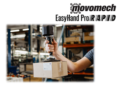Easyhand Pro Rapid Vacuum Tube Lifter Quickly and Easily Moves Boxes and Packages